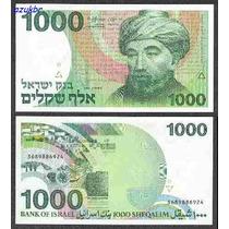 * Israel - 1000 Sheqalim 1983 Pick 49b - Fe *