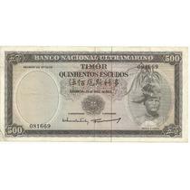 500 Escudos - Timor - Colônia Portuguesa