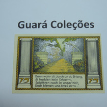 Cédula Notgeld 75 Pfennig 1922 - Lt0130