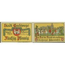 Germany Alemanha Eschwege L-338b S/fe 1 Notgeld 1921* Q J*