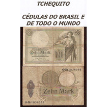 Alemanha 10 Marcos 1906 P. 9b Mbc Cédula - Tchequito