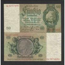 Alemanha 50 R. Marcos 1933 P. 182a Mbc Cédula - Tchequito