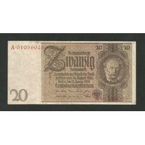 Alemanha 20 R. Marcos 1929 P. 181b Sob Cédula - Tchequito