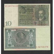 Alemanha 10 R. Marcos 1929 P. 180a Sob Cédula - Tchequito