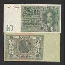 Alemanha 10 R. Marcos 1929 P. 180b S/fe Cédula - Tchequito