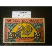 (ext.043) Alemanha - Notgeld - 25 Pfenning - 1921 - Fe
