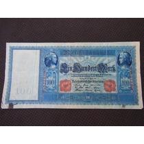 1995 - Antiga Cédula Da Alemanha 100 Mark 1910 Mbc