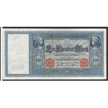 Alemanha 100 Marcos 1908 P. 35 Sob Cédula - Tchequito