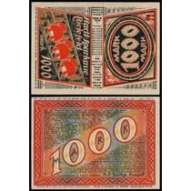 Germany Alemanha Bielefeld M-380.4c Fe 1000 Mark 1922 * Q J*