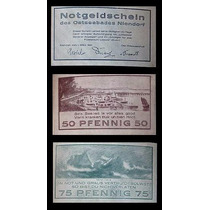 Germany Alemanha Niendorf L-947 S/fe 3 Notgelds 1921 * Q J *
