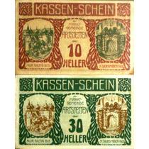 Áustria - Série De 2 Notgelds De Artstetten Fe - 1920