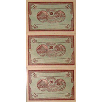 Áustria - Série De 3 Notgelds De Manning Fe - 1920