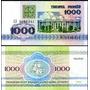Belarus Bielo-rússia P-11 Fe 1.000 Rublei 1992 Lote C/5 Q J