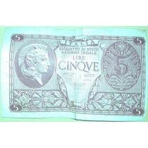 Cédula Antiga - Itália