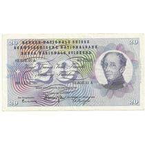 20 Francos Suiços - 1961