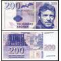 Norway Noruega 200 Kroner 2015 Fe Fantasia * Q J *