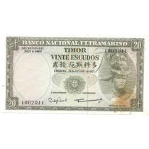 3293 - Portugal - Timor - 20 Escudos Fe