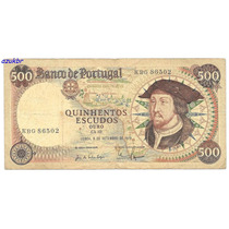 * Portugal - 500 Escudos 6.9.1979 - P.170b - Mbc *