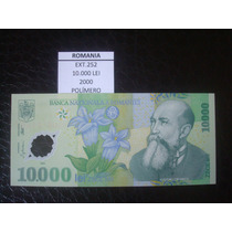 (ext.252) Romenia - 10.000 Lei - Ano 2000 - Polimero - Fe