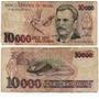 Nota De 10 Mil Cruzeiros Verdadeira