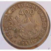 Moeda Antiga 400 Reis 1901, Algarismo Romano, Mcmi