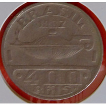 Moeda Antiga 400 Reis 1937, Oswaldo Cruz, Soberba