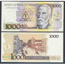 C_198 - Brasil,1989, 1 Cruzado Novo S/ 1000 Cruzados,ba, Fe