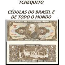 Brasil 5 Cruzeiros C068 Fe Cédula Leves Manchas - Tchequito