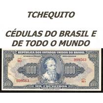 Brasil 1000 Cruzeiros C048 S/fe Cédula Autografada Tchequito