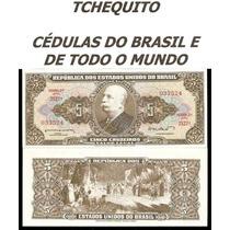 Brasil 5 Cruzeiros C071 Fe Cédula - Tchequito