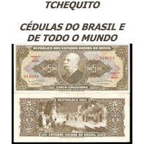 Brasil 5 Cruzeiros C074 S/fe Cédula Leves Manchas- Tchequito
