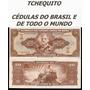 Brasil 20 Cruzeiros C083 S/fe Cédula Autografada - Tchequito