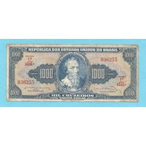 L-1240 C-056 - Belíssima Cédula Original - Cr$ 1.000 - 1963