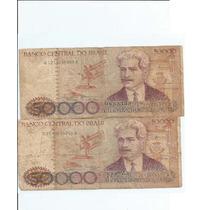 Cedulas Cinquenta Mil Cruzeiros - Ano 194/1985 - Com E S/c