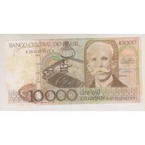 1008 - 10.000 Dez Mil Cruzeiros Cédula Manchada R$ 20,00