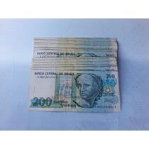 Notas De 200 Cruzeiros (preço Unitário)