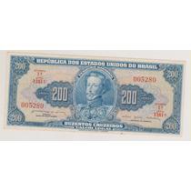 556 - 200 Duzentos Cruzeiros C-042 Mbc/sob R$ 15,00