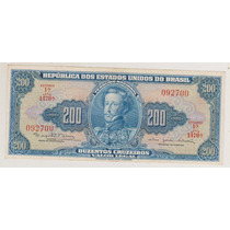 557 - 200 Duzentos Cruzeiros Mbc/sob C-043 R$ 12,00