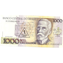 056 - Linda Cédula Brasil C198 Fe - Mil Cruzados
