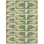 Cédula Dinheiro Antigo, 10 Cruzeiros, C-082, Getúlio Vargas