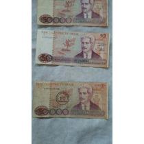 Cédula 50.000 Cruzeiros, Notas Antigas