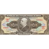 Cedula 5 Cruzeiros C068 1956