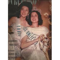 O Cruzeiro 1962.miss Universo.seleção.brasilia.maristela.