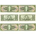 Cédula Dinheiro Antigo, 10 Cruzeiros, C-081, Getúlio Vargas