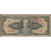 C 044 Cr$ 500,00 - D. João V I - 1943 - Autografada