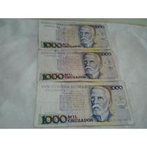 Cédulas Antigas 1.000 Cruzados - Notas Antigas - Dinheiro