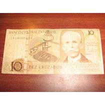 Cédula Brasileira Antiga Dez Cruzados Rui Barbosa
