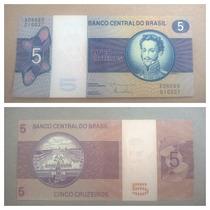 Nota Dinheiro Antigo 5 Cruzeiros