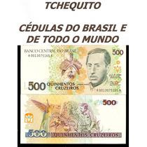 Brasil 500 Cruzeiros C216 Fe Cédula - Tchequito