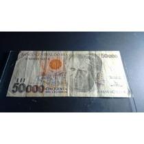 Cedula Cinquenta Mil Cruzeiros